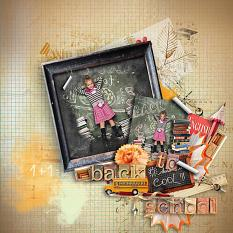 layout using back to school by d's design