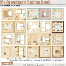 Easy Page Pro Album: My Grandma's Recipe Book Biggie prev