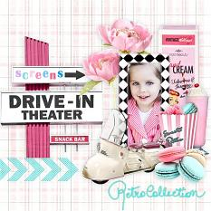 fifties layout using fifties fever by d's design