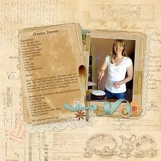 My Grandma's Recipe Book LO1 by Susie Roberts