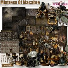 Mistress Of Macabre Page Kit