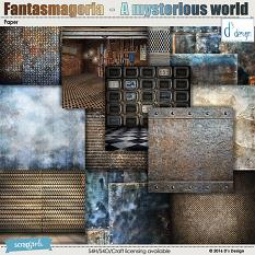 mysterious world paper by d's design