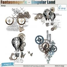singular land stamps by d's design
