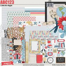 ABC123 Collection Biggie by Carolyn Rose Kite