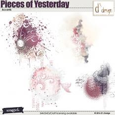 pieces of yesterday accents by d's design