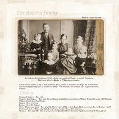 The Roberts Family by Susie Roberts