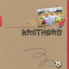 Brothers by Nann Dalton