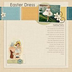 Easter Dress by Nann Dalton