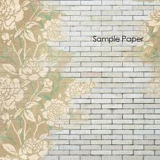 ScrapSimple Paper Templates: Painted Overlays Sample Paper