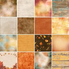 Autumn Symphony Paper Samples
