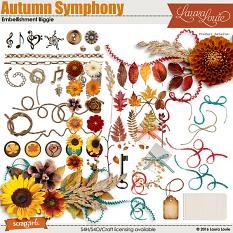 Autumn Symphony Embellishment Biggie