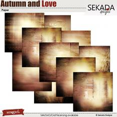 Autumn and Love Paper