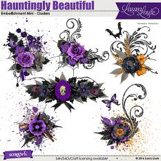 Hauntingly Beautiful Embellishment Mini Clusters