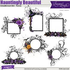 Hauntingly Beautiful Embellishment Mini Frames