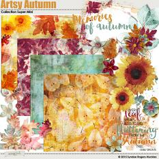 Artsy Autumn Digital kit