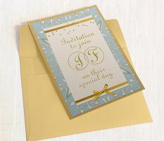 Wedding Invitation by Susie Roberts