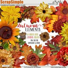 autumn accents templates