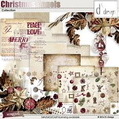 christmas angels collection by d's design