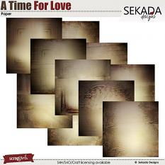 A Time For Love Paper