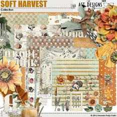 Soft Harvest Thanksgiving and Fall Themed #digitalscrapbooking kit by AFT designs