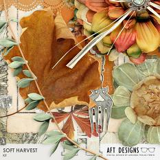 Detail if some elements included in this Thanksigving inspired digi scrap kit