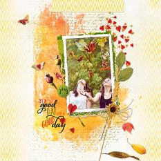 Digital scrapbook layout by Dadi