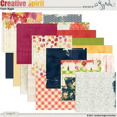 Creative Spirit digital papers