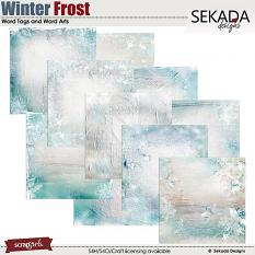 Winters Frost Paper