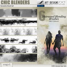 Dynamic Chic Blenders #digitalscrapbooking brushes by AFT designs @ScrapGirls.com | #photoshop #scrapbook