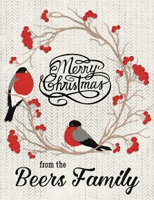 """""""A2 Invitation Size Christmas Card"""" by Darryl Beers"""