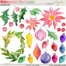Watercolor Christmas Illustrations