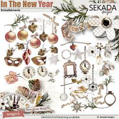 In The New Year Embellishment