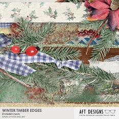 Winter Timber Edges Embellishments @ Scrapgirls.com by AFT designs