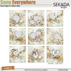 Easy Page Pro Album: Snow Everywhere Mini