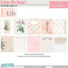 Color My Heart Pocket Life Cards 3 x 4 Prev