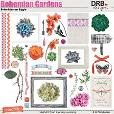 Bohemian Gardens Embellishment Biggie by DRB Designs | ScrapGirls.com