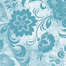 ScrapSimple Paper Templates: Distressed Floral Overlays: Sample Closeup 02