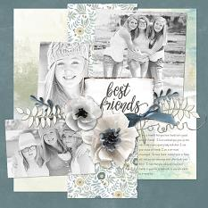Best Friends Forever layout by Melissa Renfro