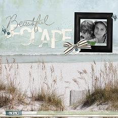 Escape layout by Melissa Renfro