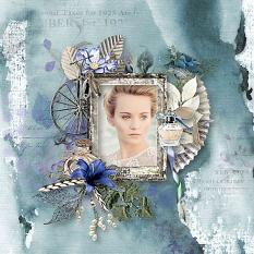 layout using melancholic mind value pack by d's design
