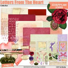 See also the full Letters From the Heart Collection created by Jan Ransley