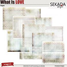 What Is Love Paper