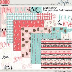 Also available: XOXO Digital Papers