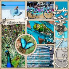 Random Shots Layout by Laura Louie