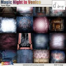 magic night in venice paper biggie by d's design