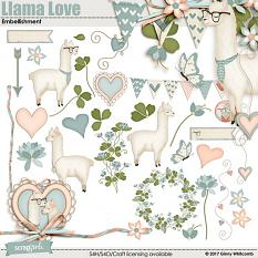 Llama Love Collection Mini