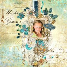 layout using venice's splendor value pack by d's design