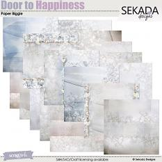 Door To Happiness Paper Biggie