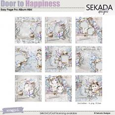 Easy Page Pro Album: Door To Happiness Mini