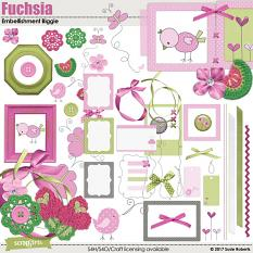 Fuchsia Embellishment Biggie Prev
